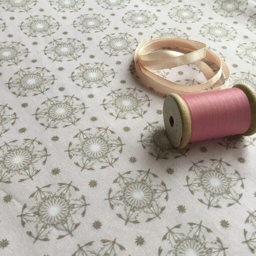 rosa bomullstyg design