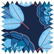 zz10-Flora china blue