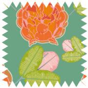 zz10-Flora green orange