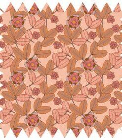 trikå, vår, tyg, creme, rosa