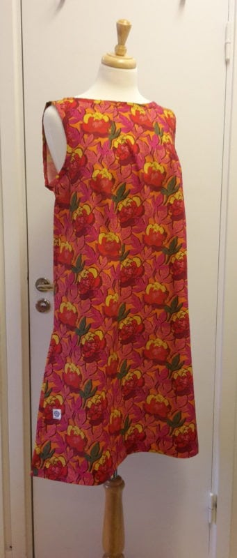 sigrid, klänning, helena, orange, sy, mönster