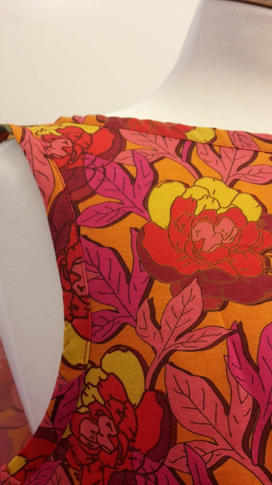 detalj, sigrid, klänning, helena, orange, sy, mönster