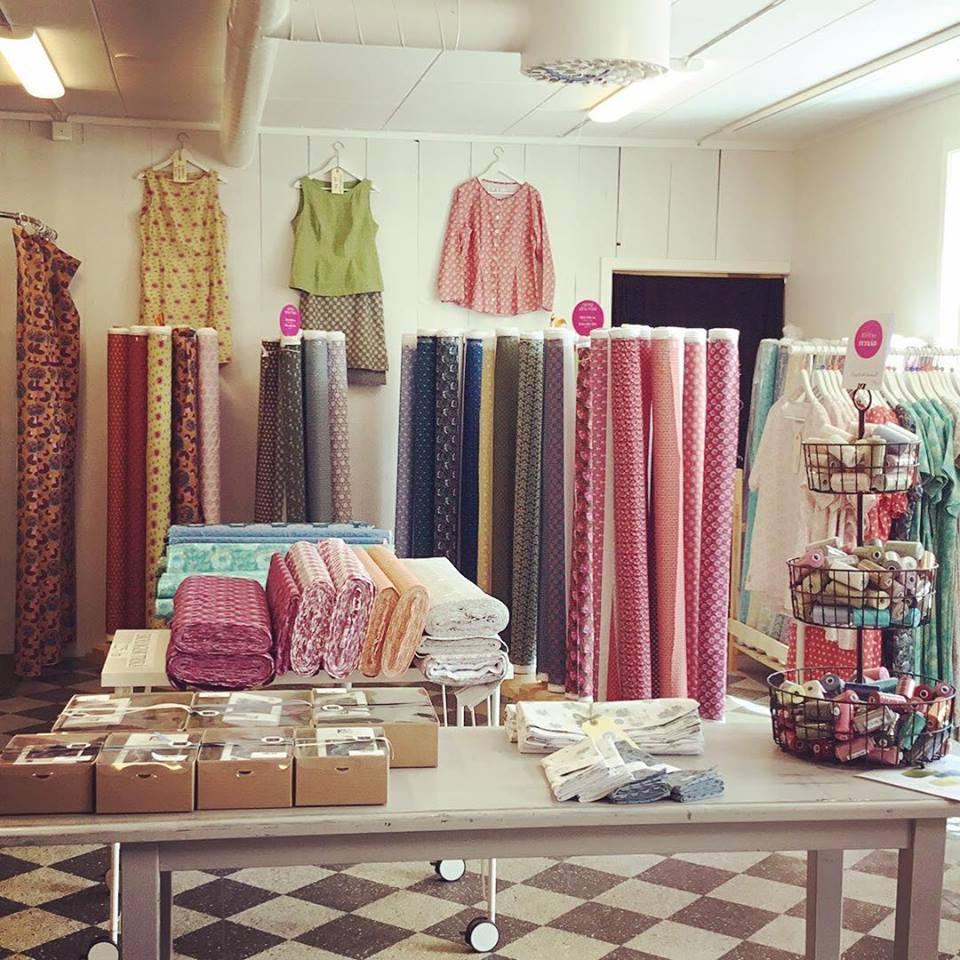 butik, sälen, tyg, kläder
