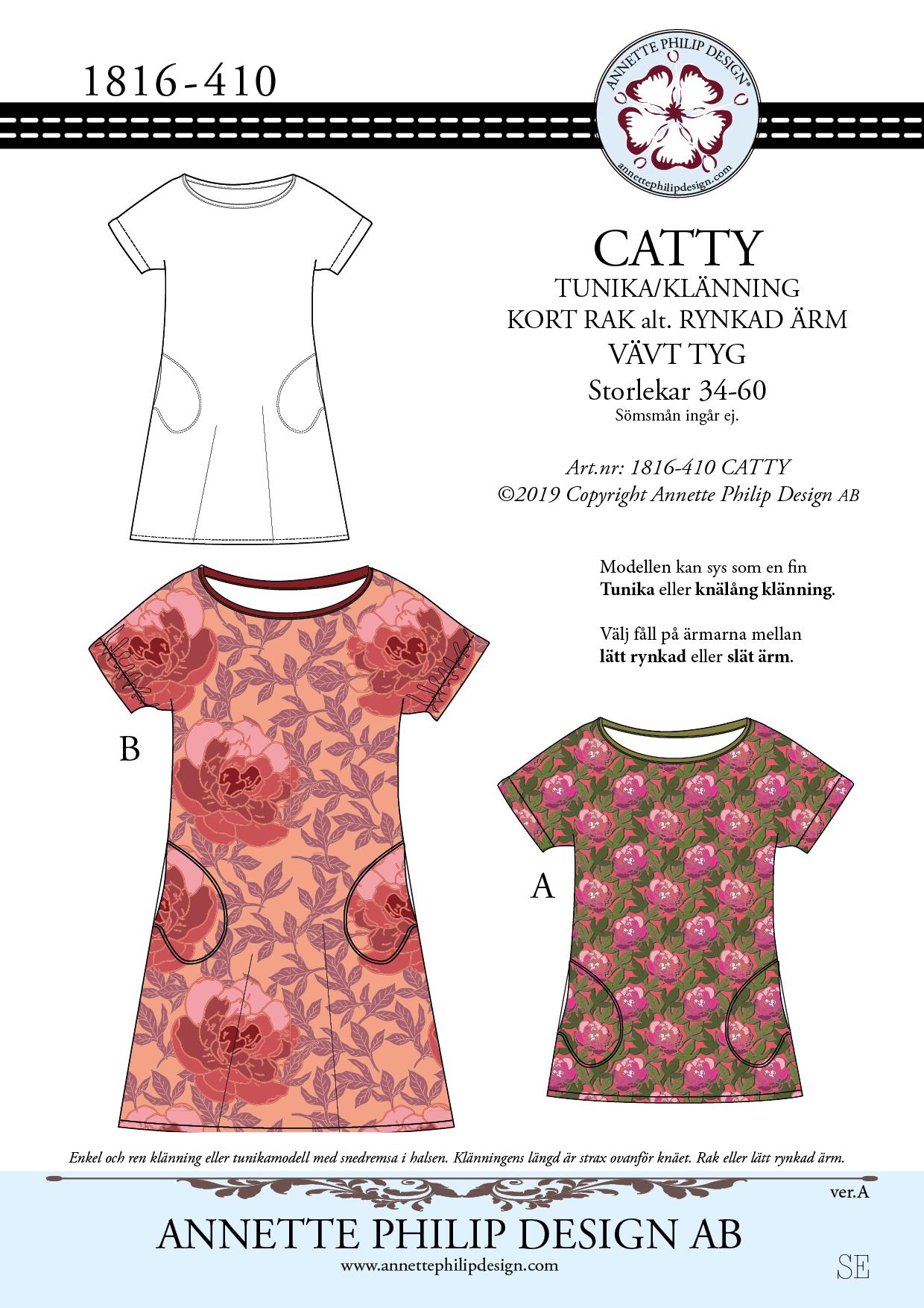 CATTY klänning stl.34 60 – ANNETTE PHILIP DESIGN